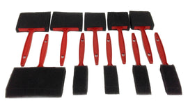 SPONGE Paint BRUSHES 10-Piece SET