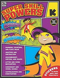 FREE SHIPPING Super Skill Powers Book, Grade K