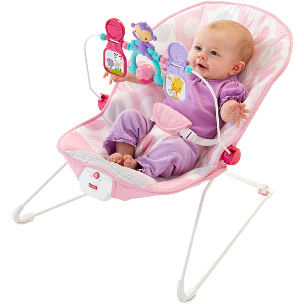 Fisher-Price Baby's Bouncer, Pink Ellipse