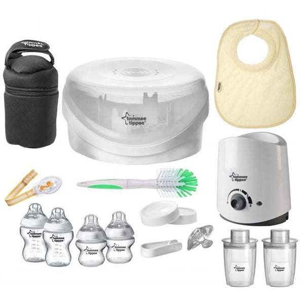 Tommee Tippee Closer to Nature Complete Starter Set, BPA-Free