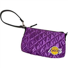 NBA Los Angeles Lakers Quilted Wristlet, Black