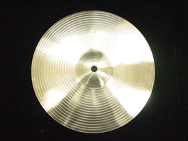 "DRUM CYMBAL - 10"" POLISHED - SPLASH - ACCENT PERCUSSION"