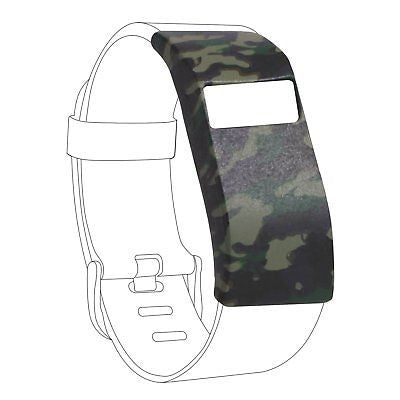 Sleeve Protector Band Cover for Fitbit Charge/Fitbit Charge HR Slim Camo