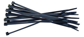 "CABLE TIES 100 Pieces 12""x3.6mm Ziptie Black Plastic Heavy Duty"