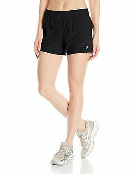 ASICS Women's Distance Shorts Black XS