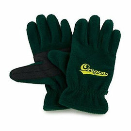 NCAA Oregon Ducks Men's '47 Fleece Gloves, Dark Green