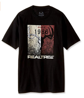 Realtree Since 86 Screen Print Tee, Size X-Large