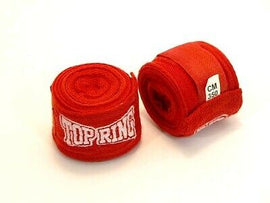 Boxing Hand Wrist Wraps 1 Pair Boxing Bandages Protecting Fist Punching MMA RED