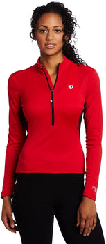 Pearl Izumi Women's Select Long Sleeve Jersey, Size: Large, Color: True Red