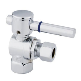 Kingston Brass CC33101DL+ Concord Lead Free 3/8-Inch IPS by 3/8-Inch OD Compression Angle Stop Valve, Polished Chrome