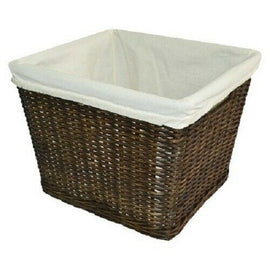 Large Decorative Basket with Liner - Pillowfort - Espresso Brown - Pillowfort™