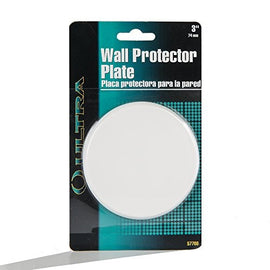 "Ultra Hardware 849-2053-1125 Ultra 57700 3"" White Door Knob Protector (Pack of 1)"