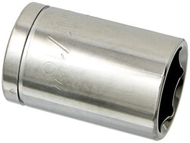 Williams 32122 1/2-Inch Drive 6 Point Shallow Socket, 11/16-Inch