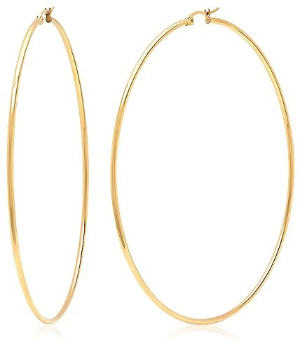 Piatella 18K Gold-Plated Hoop Earrings