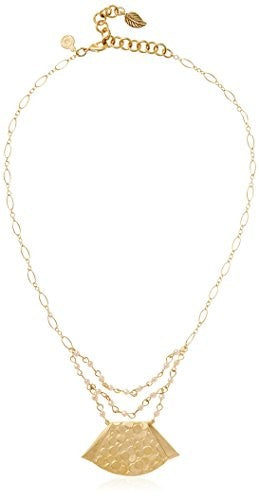 David Aubrey Hadrien Gold-Plated Pendant Necklace