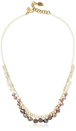 David Aubrey Hadrien Bead Fringe Necklace