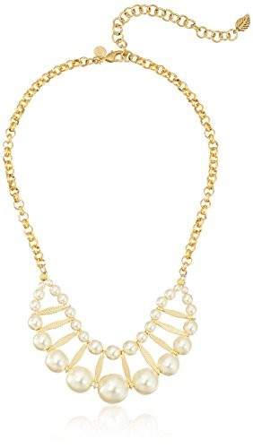David Aubrey Hadrien Double Row Pearl Necklace