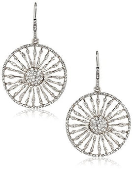 Marlyn Schiff Crystal Burst Drop Earrings