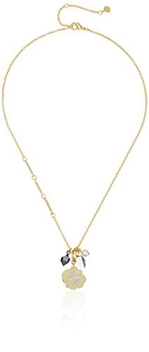 Fragments Lightening Pave Multi Charms Necklace, 19