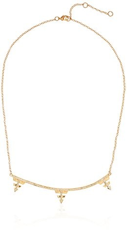 Edison 14K Gold-Plated Necklace, 17.5