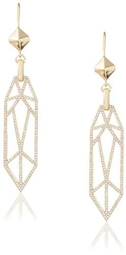 Fragments Pave Cage Earring