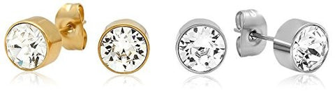 Piatella Set of 2 Swarovski Elements Studs