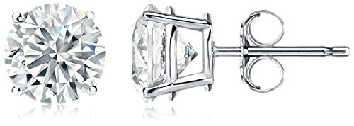 Peermont Jewelry 6mm CZ Stud Earrings