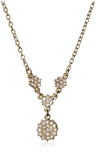 Fragments Pave Floral Necklace