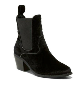 Women's Tommi Velvet Booties - Mossimo™ Black Size 9 Boots