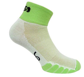 Eurosocks Cycling Socks, Embraces The Foot, Thick Cushion Feel, No Pinch Seamless Toe, Ventilation Knit- 4612