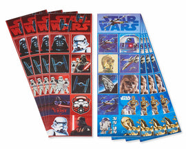 8ct Star Wars Episode Viii Sticker Strips
