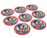 American Greetings DC Super Hero Girls Party Supplies, Paper Plates (8-Count)
