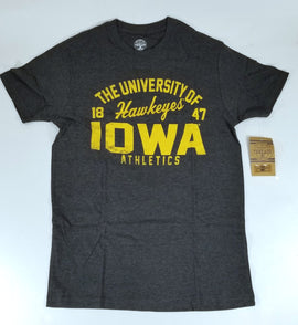 Iowa Hawkeyes Men's Heather T-Shirt Small