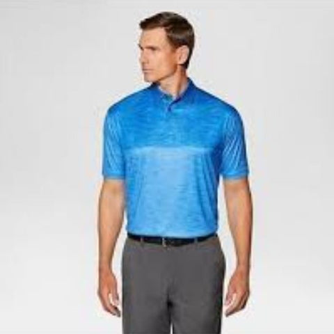 Jack Nicklaus Men's Color Block Golf Polo - Blue XS