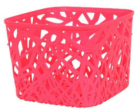 Room Essentials Branch Weave Storage Bin Set of 4 - Luminous Coral Small