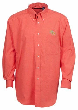 Oxford NCAA Men's Long Sleeve Button Down Woven Shirt