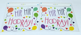 2 Sheets of 31 Count Each - Decorative Wall Art for Any Occasion, Hooray