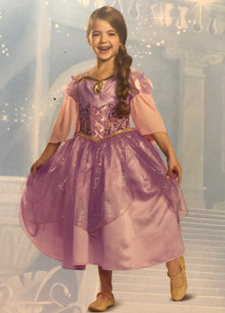 Disney Tangled Disguise Girls Costume Repunzel - M (7-8)