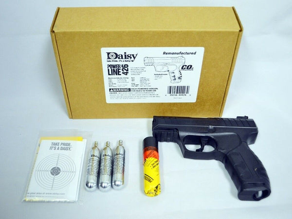 Daisy Powerline 426 COâ'' Air Pistol BB Gun, 430 fps (Refurbished - Like New Condition)