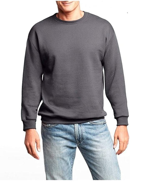 Men's Hanes Slate Gray XL Premium Fleece Sweatshirt With Fresh IQ