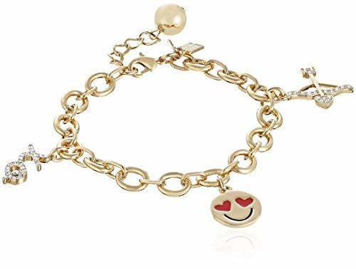 kate spade new york How Charming Valentine's Day Charm Bracelet, 7.5