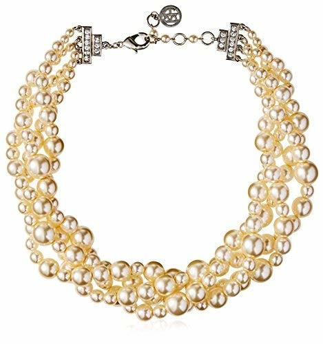 Ben-Amun Multi-Strand Mixed Pearl Necklace