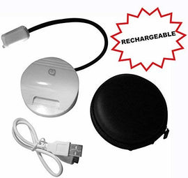 Book Light with Secure Clip and Carrying Case USB Charging Cable Included - Clip N Read.