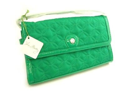 Vera Bradley - UPPER EAST CLUTCH Nylon Green 10652-407