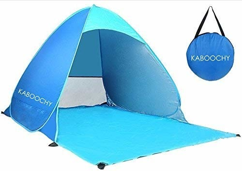 KABOOCHY Automatic Pop Up Instant Portable Outdoors Quick Cabana Beach Tent