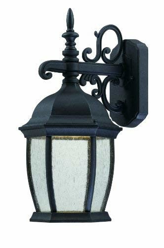 Thomas Lighting TW0001030 Covington Led Outdoor Wall Lantern, Black