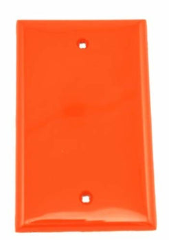 Leviton 1-Gang No Device Blank Wallplate, Standard Size, Thermoplastic Nylon, Box Mount