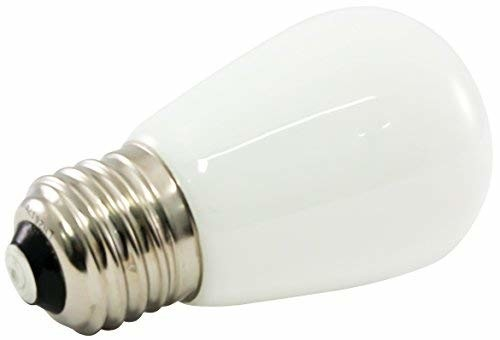 American Lighting Dimmable LED S14 Opaque Light Bulbs, Medium Base