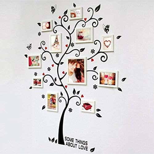 IVY Happy Tree - Decorate Picture Removable Wall Decor Decal Sticker,Beautiful and Lovely