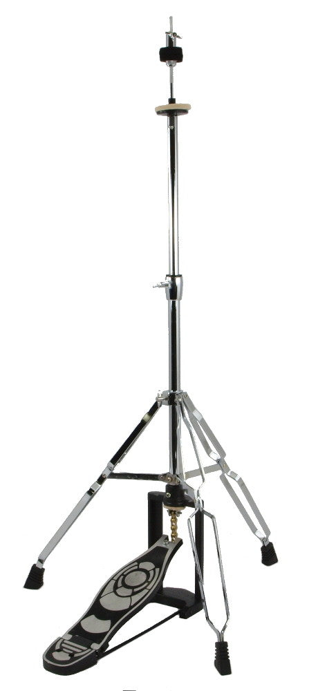 Hi-Hat Stand Medium Weight Double baced, Zinc Alloy Plated